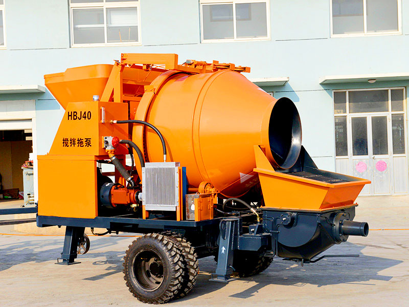 small diesel concrete pump