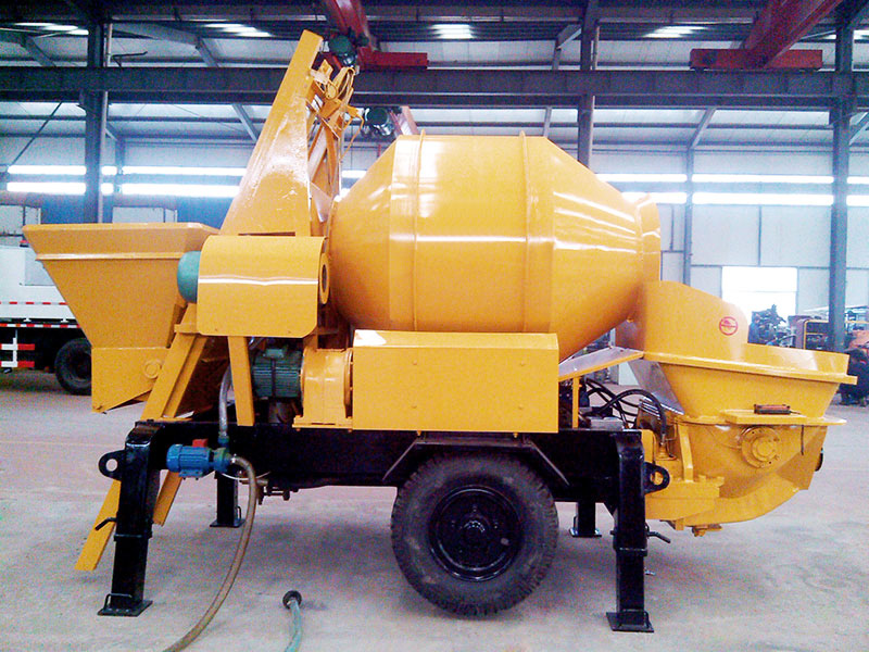 small diesel concrete mixer pump